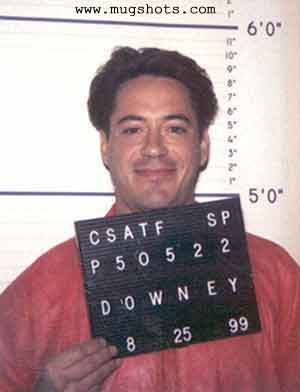 robert downey jr prision