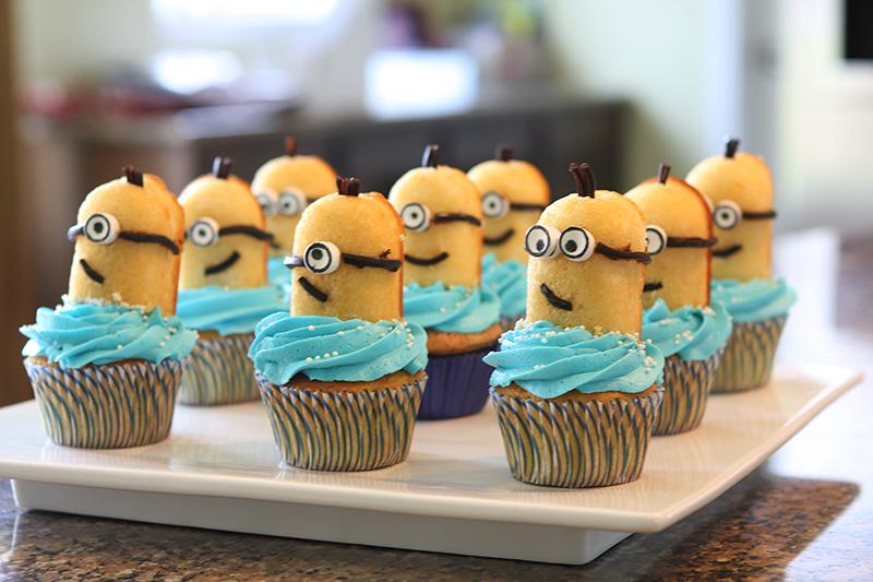 pastelitos de los minion