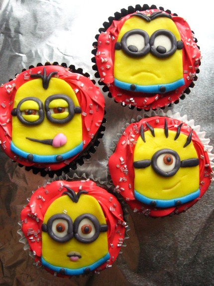pastelitos minion gru