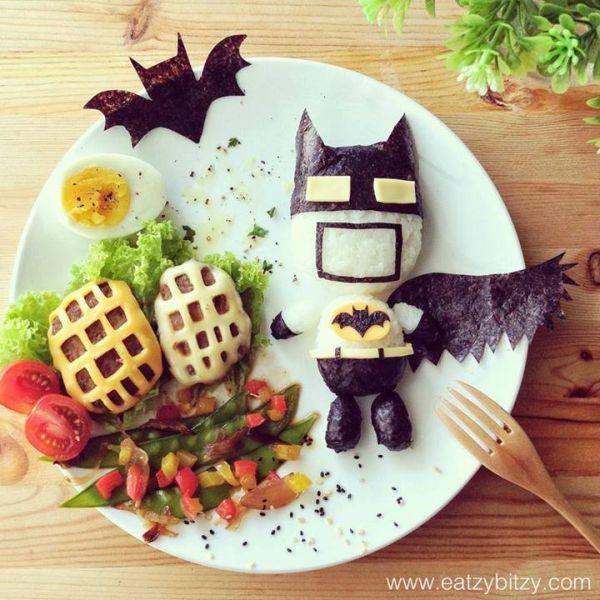 Batman Food Art