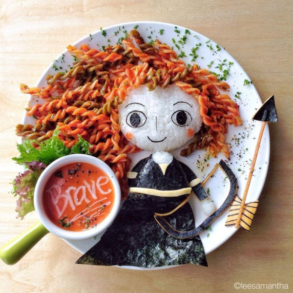 Brave Food Art