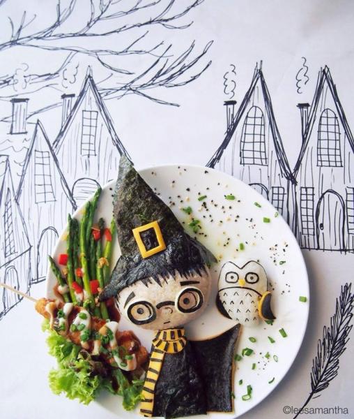 Harry Potter Food Art