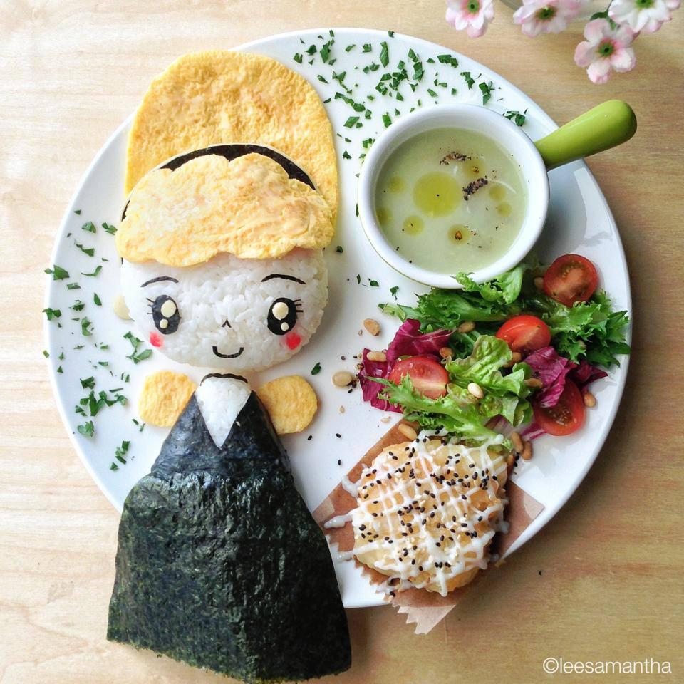 La cenicienta Food Art