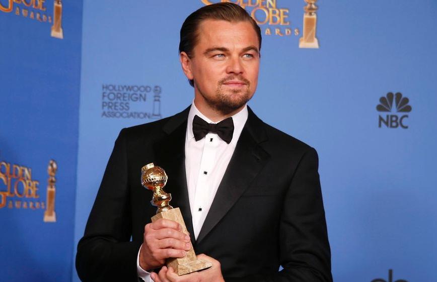 DiCaprio Globos de Oro 2014