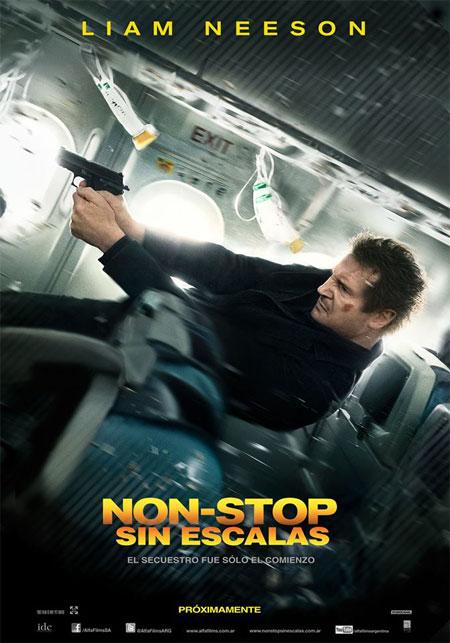 Non-Stop (Sin escalas) Cartel