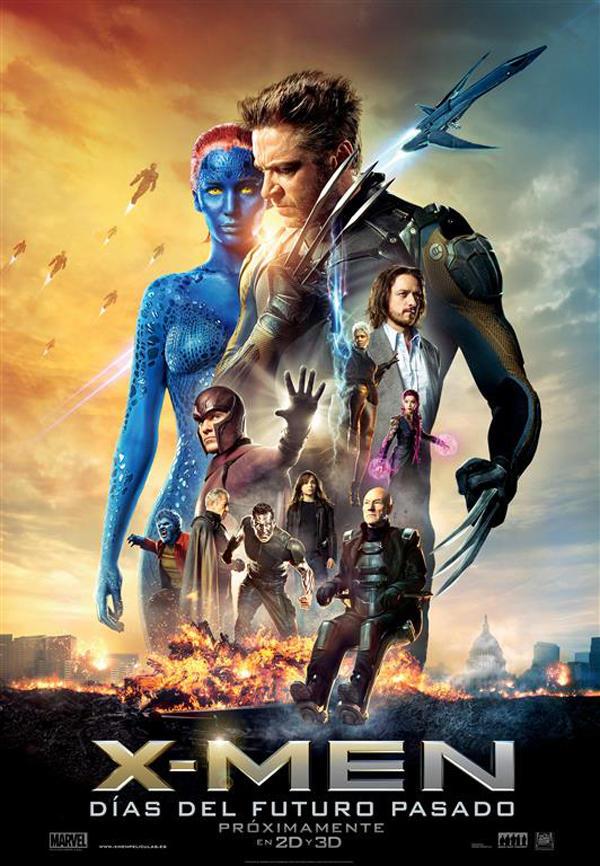 X-Men Días del futuro pasado Cartel