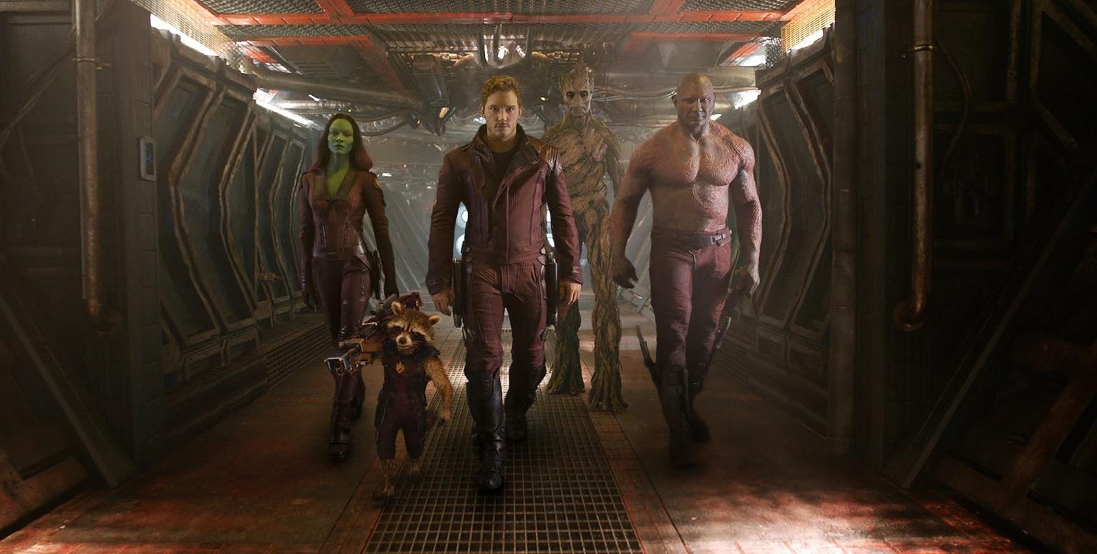 Guardianes de la galaxia película