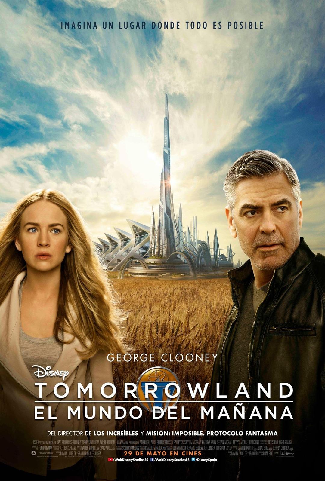 Tomorrowland el mundo del mañana cartel españa