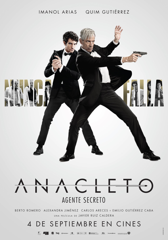 Anacleto Agente secreto Cartel