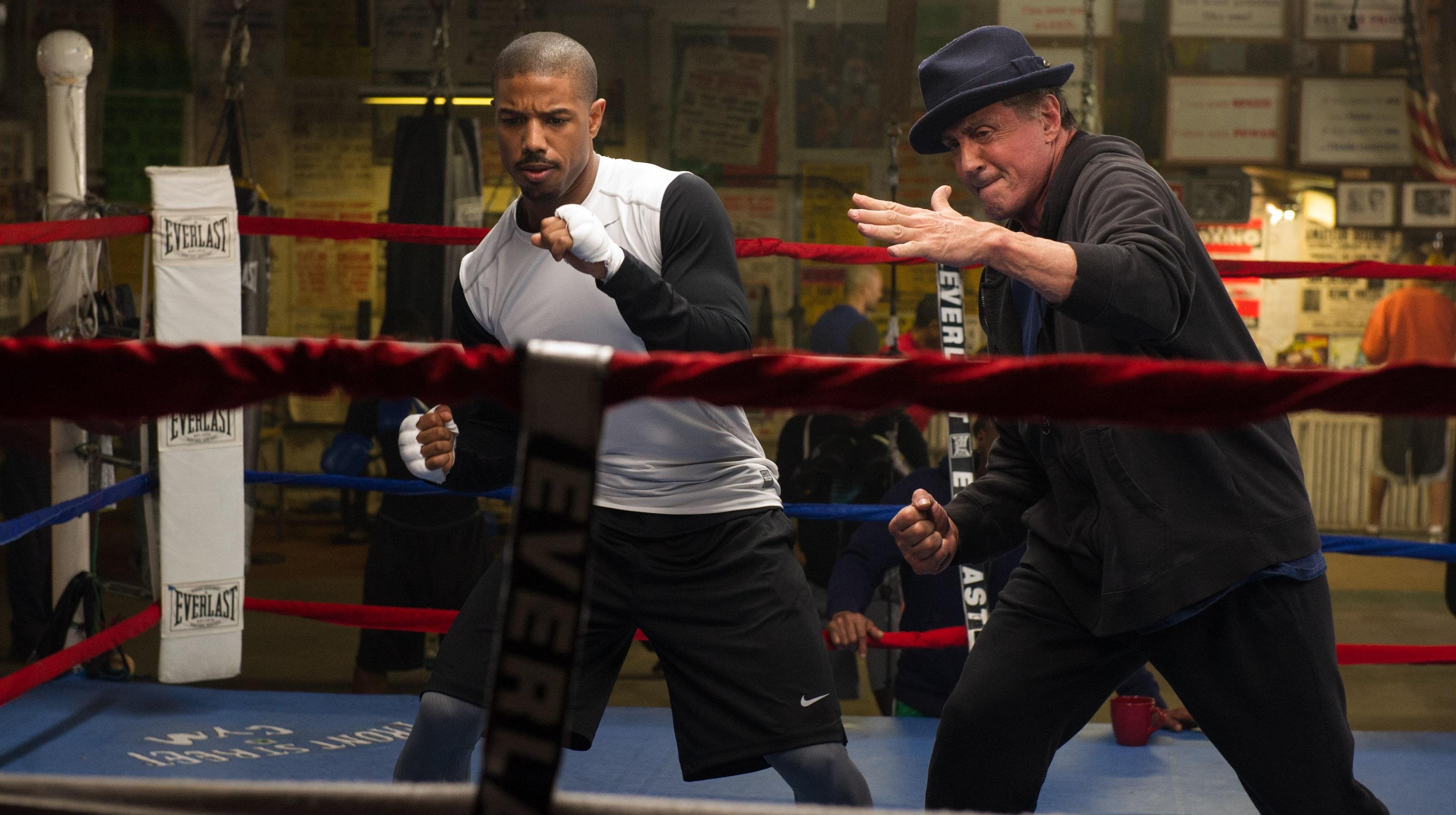 Creed La leyenda de Rocky pelicula