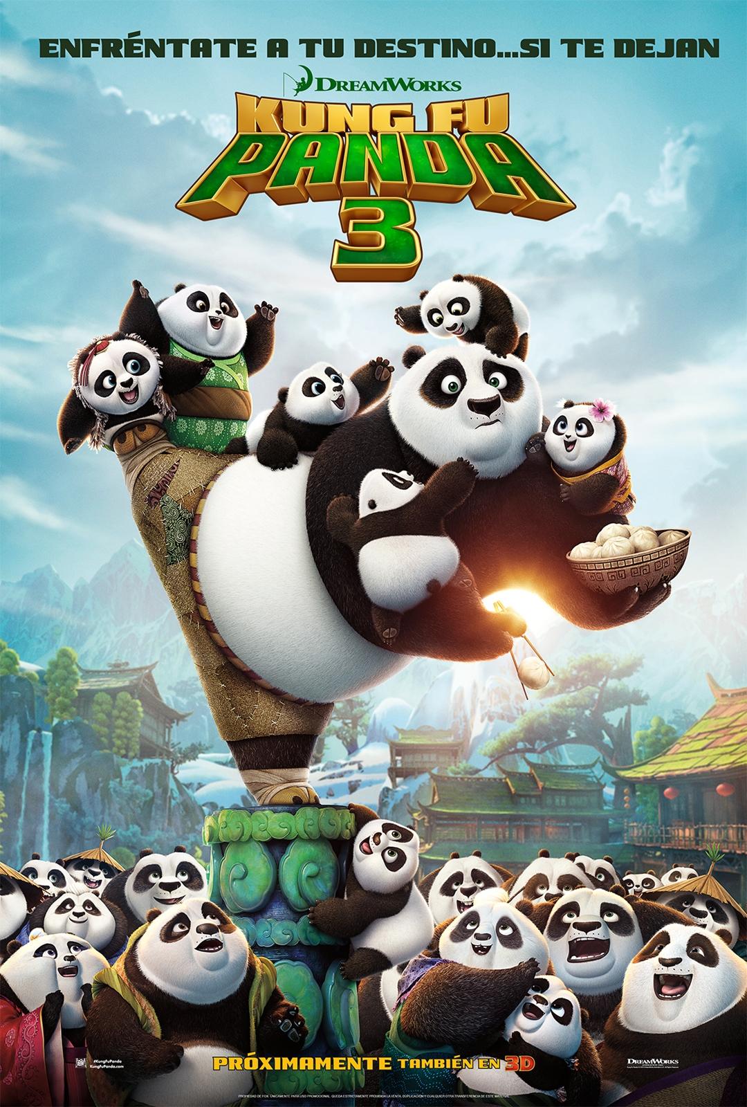Kung Fu Panda 3 Cartel España
