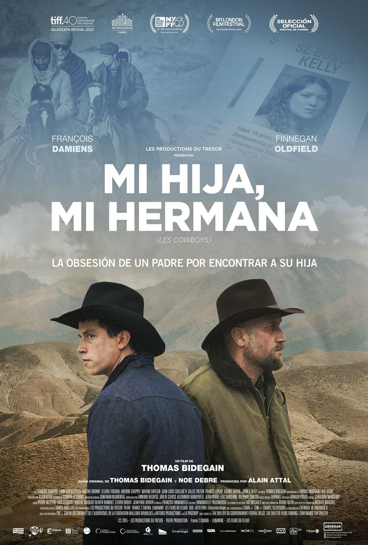 Mi hija, mi hermana (Les Cowboys) Cartel España