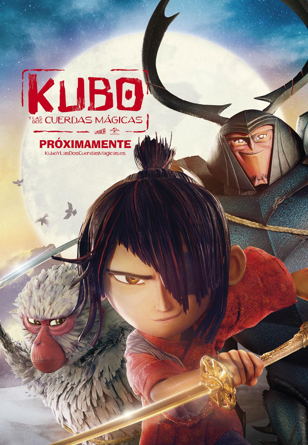 Kubo y las dos cuerdas magicas Cartel