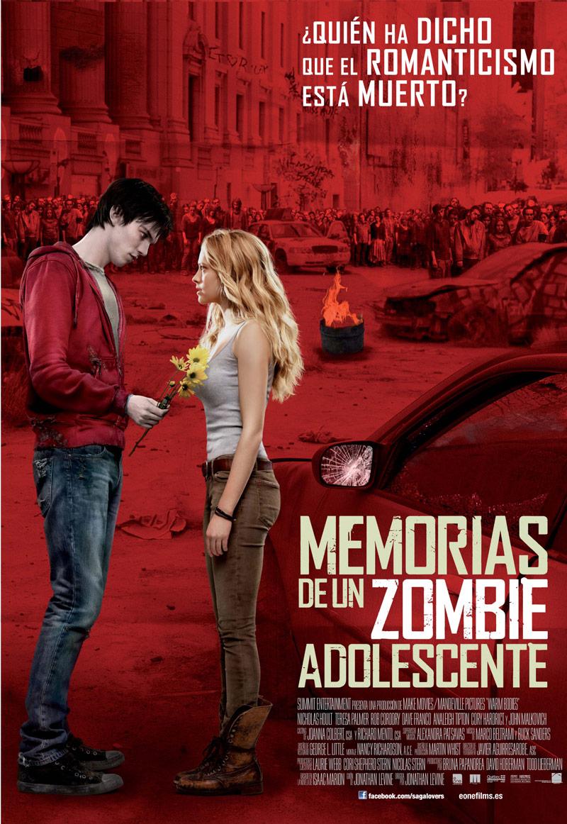 memorias de un zombie adolescente cartel