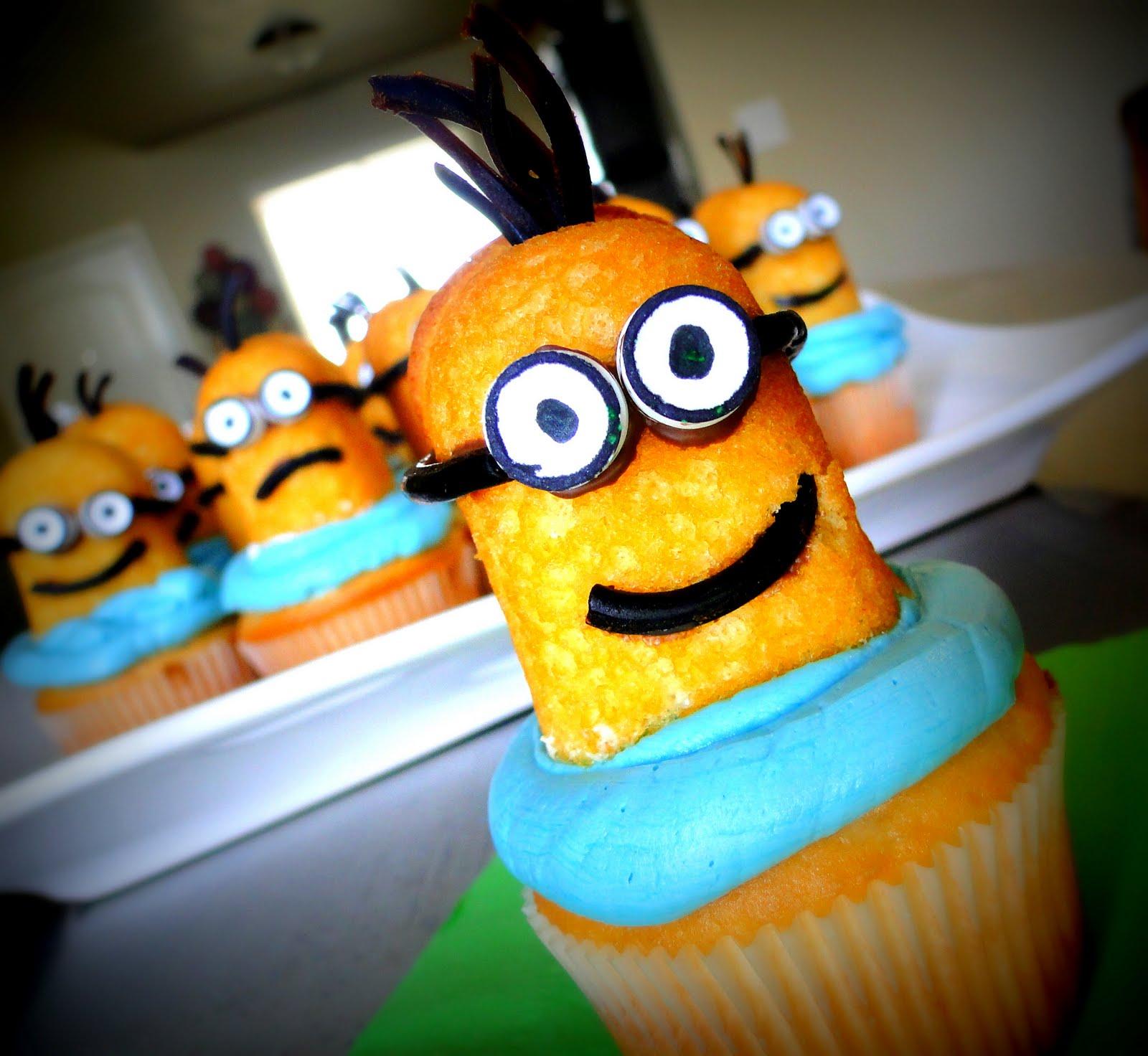 cupcakes minions