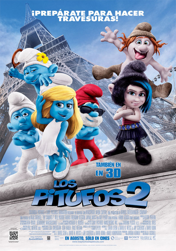 Los pitufos 2 (The Smurfs 2)