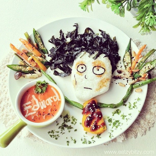Eduardo Manostijeras Food Art