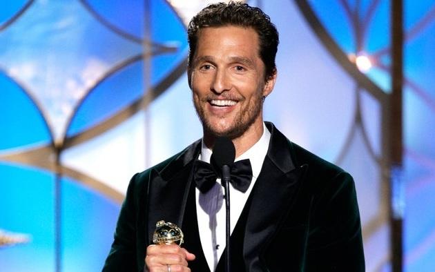 Matthew McConaughey Globos Oro 2014