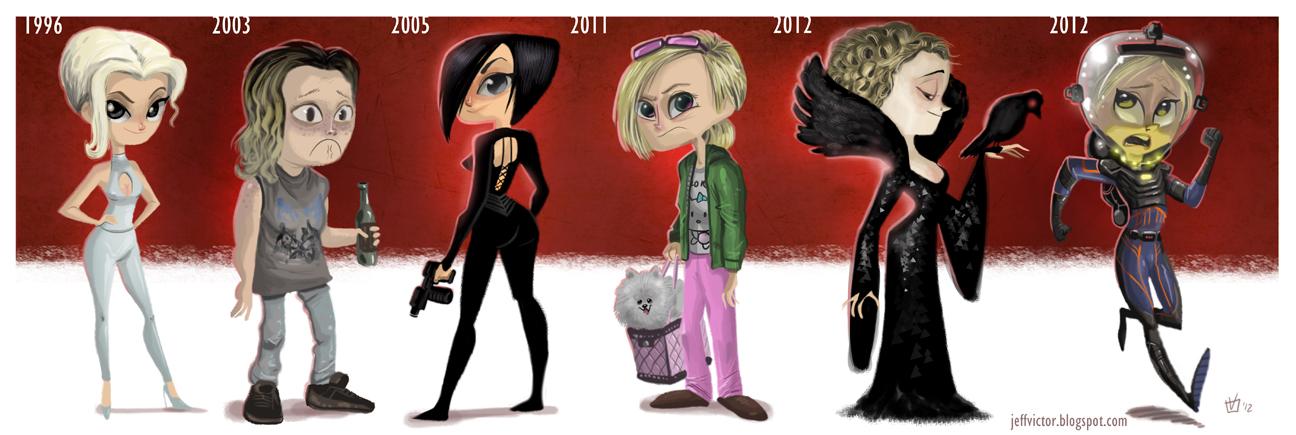 Charlize Theron Evolución Cine