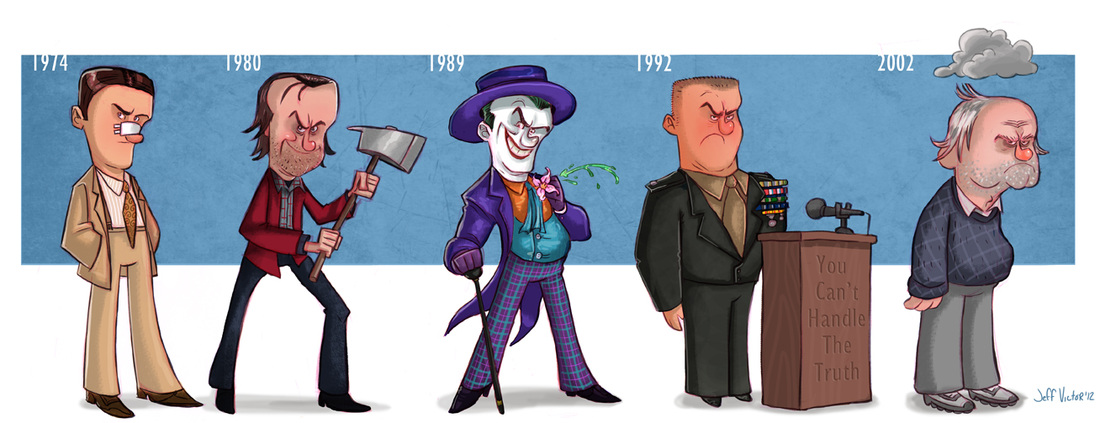 Jack Nicholson Evolución Cine