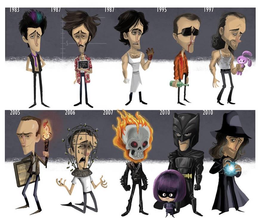 Nicolas Cage Evolución Cine