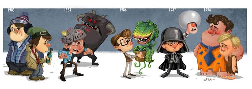 Rick Moranis Evolución Cine