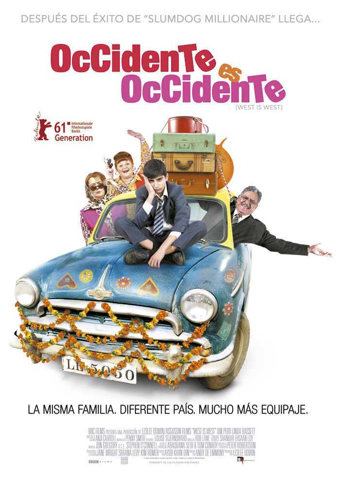 Occidente es occidente cartel