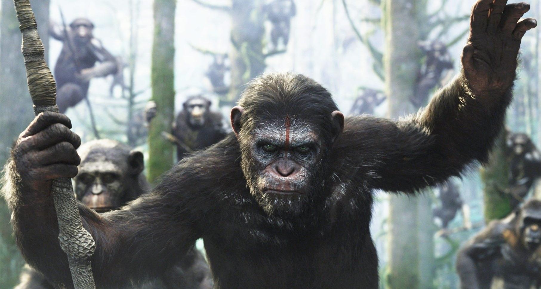 El amanecer del planeta de los simios película