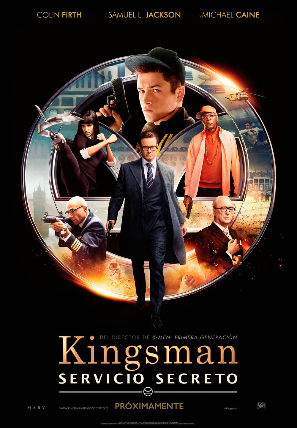 Kingsman-Servicio-secreto-Cartel
