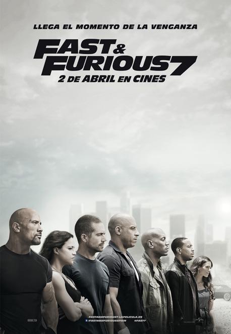 Fast & furious 7 cartel españa