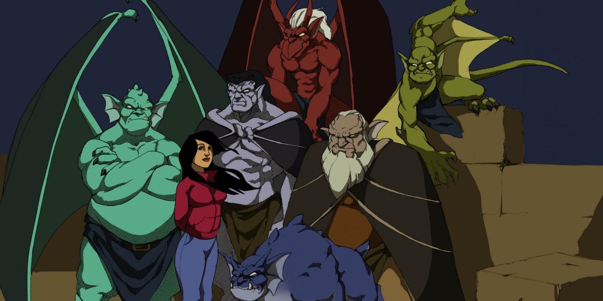 Gargoyles Dibujos Animados
