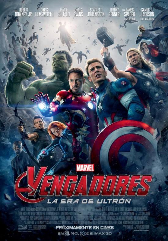 Vengadores La era de Ultrón cartel