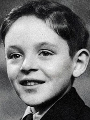 Anthony Hopkins de niño