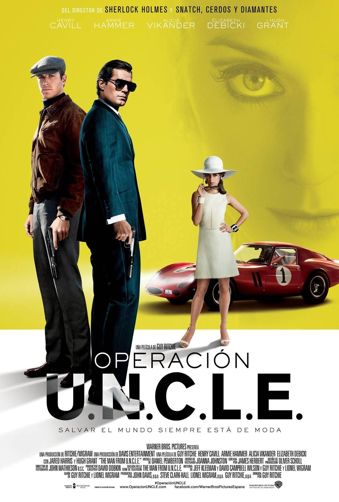 Operación U.N.C.L.E. cartel