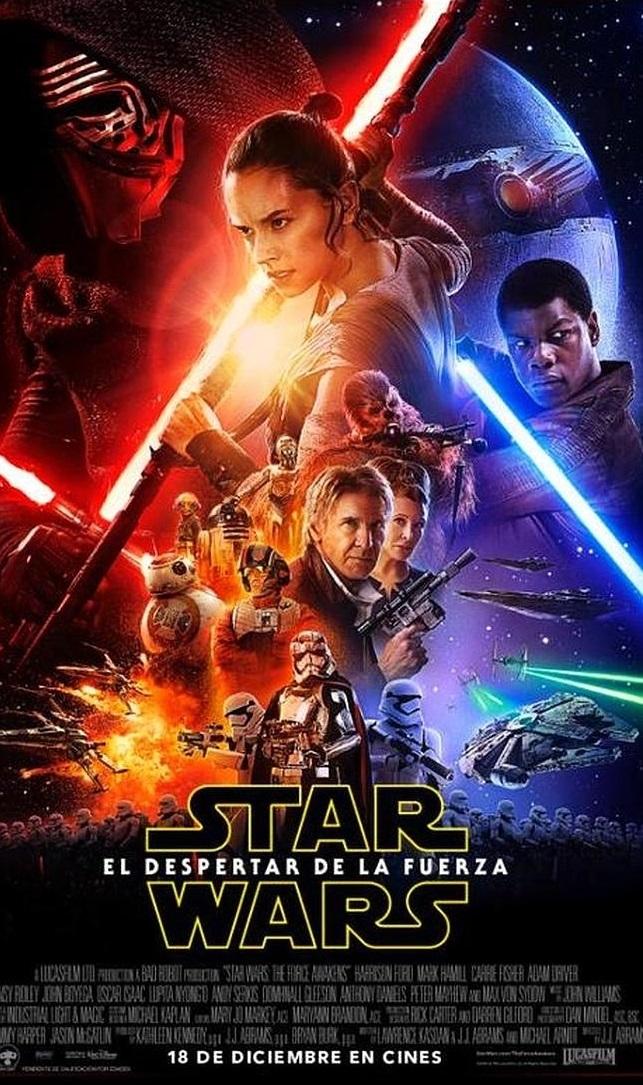 Star Wars El despertar de la Fuerza Cartel