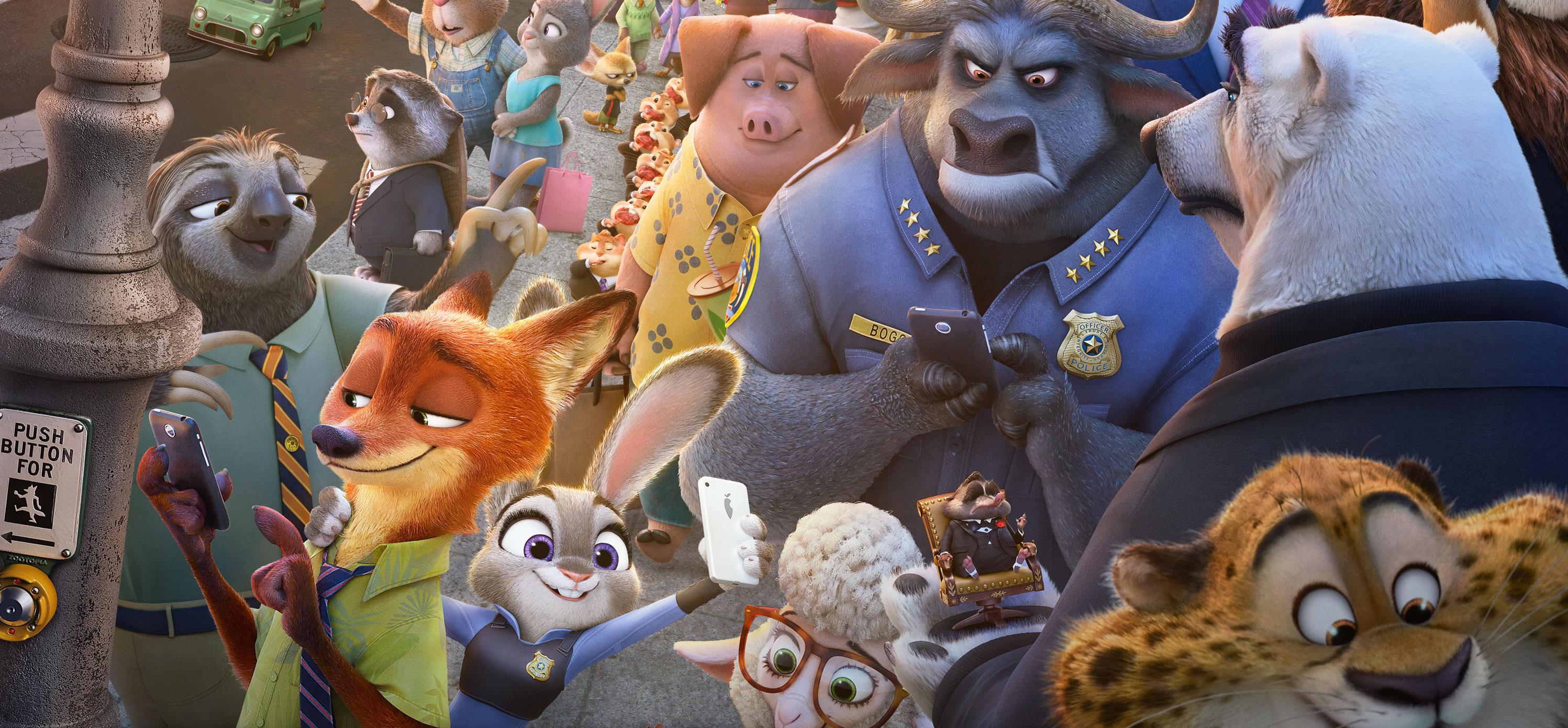 Zootropolis personajes