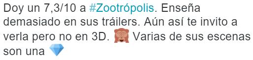 opinion zootropolis