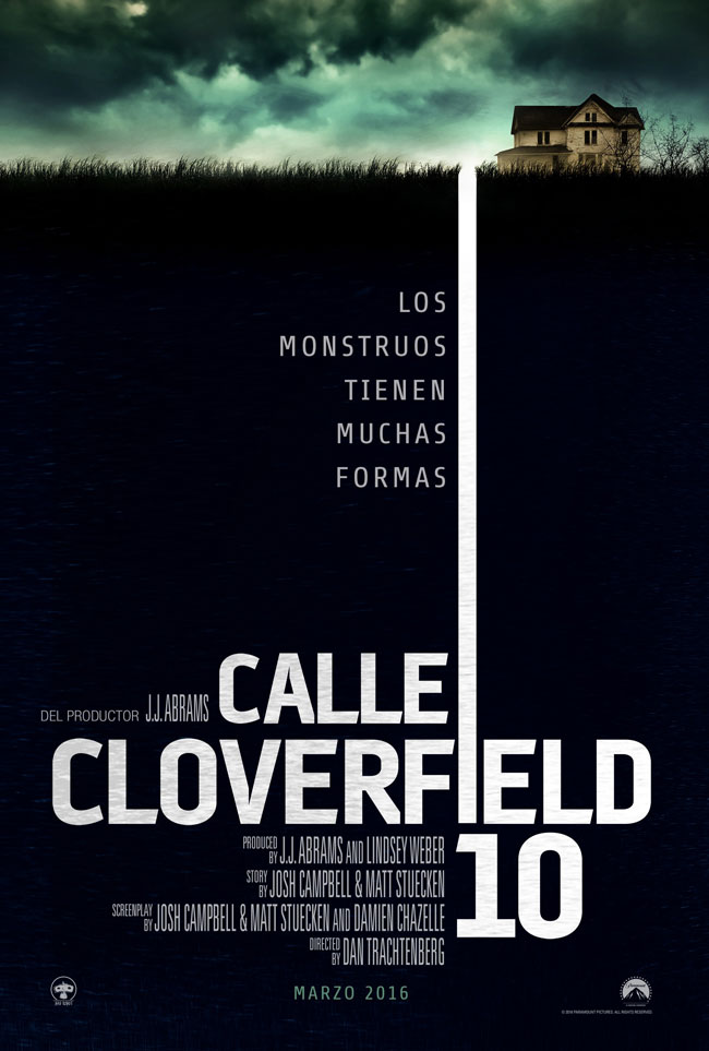Calle Cloverfield 10 Cartel España