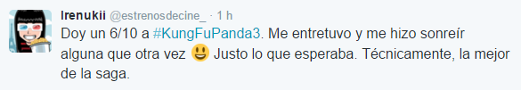 Opinion Kung Fu Panda 3