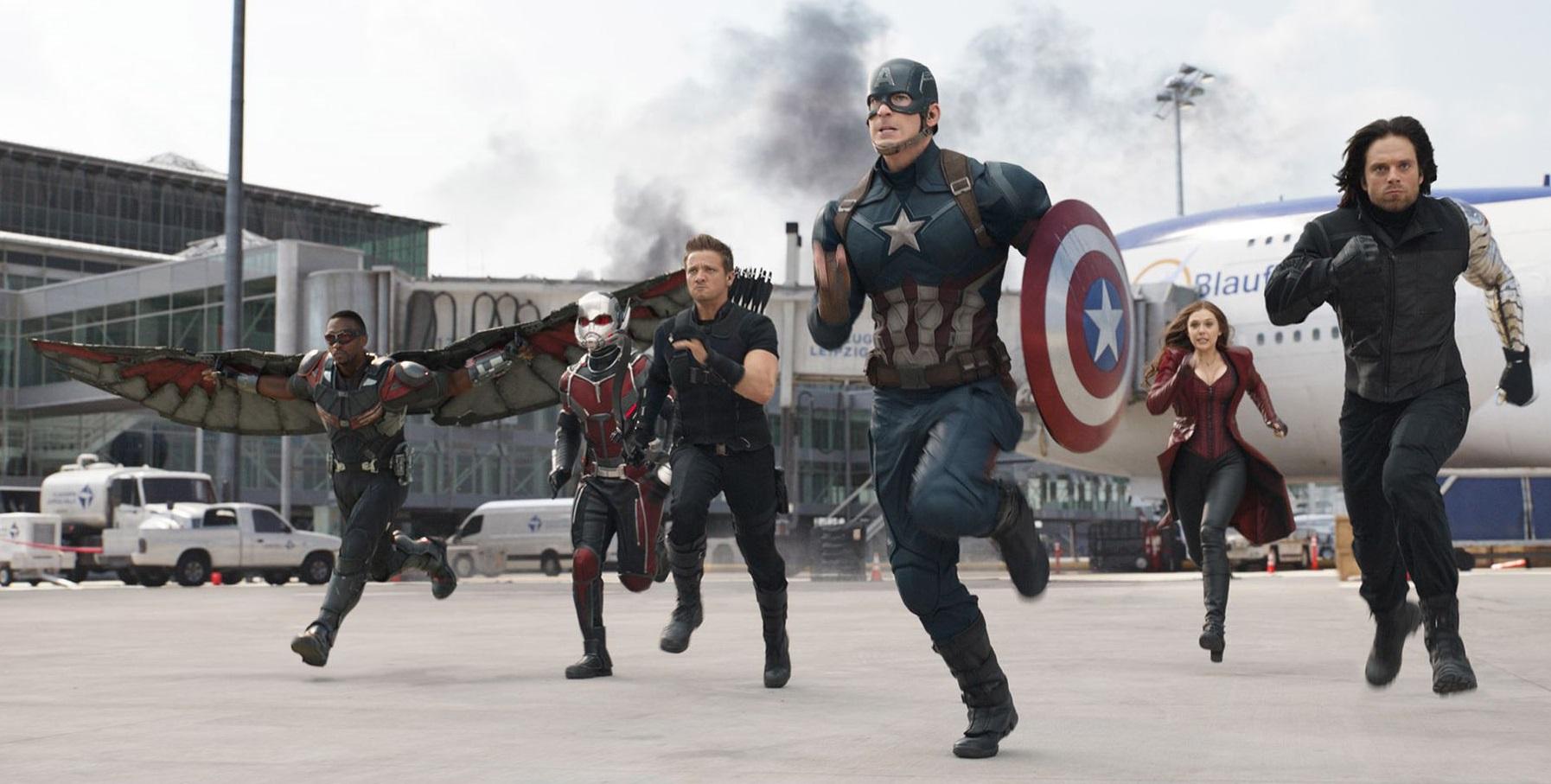 Capitán América Civil War Pelicula