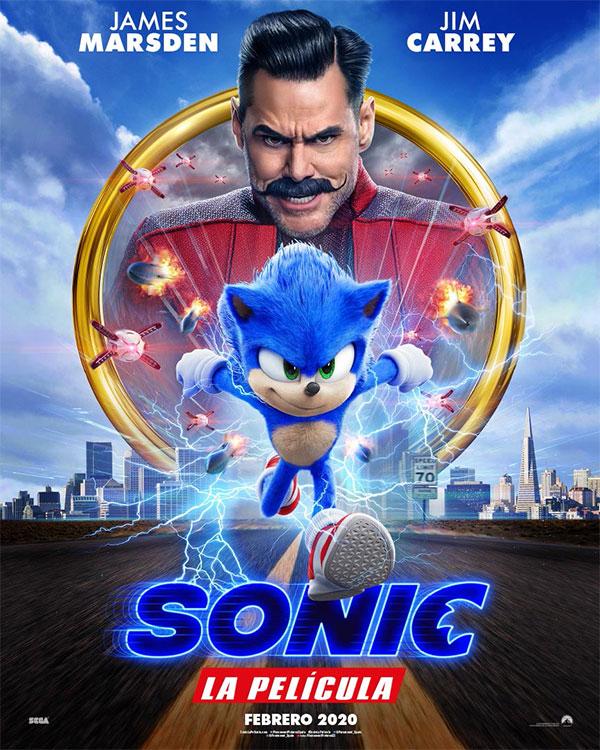 Sonic La Pelicula Cartel España