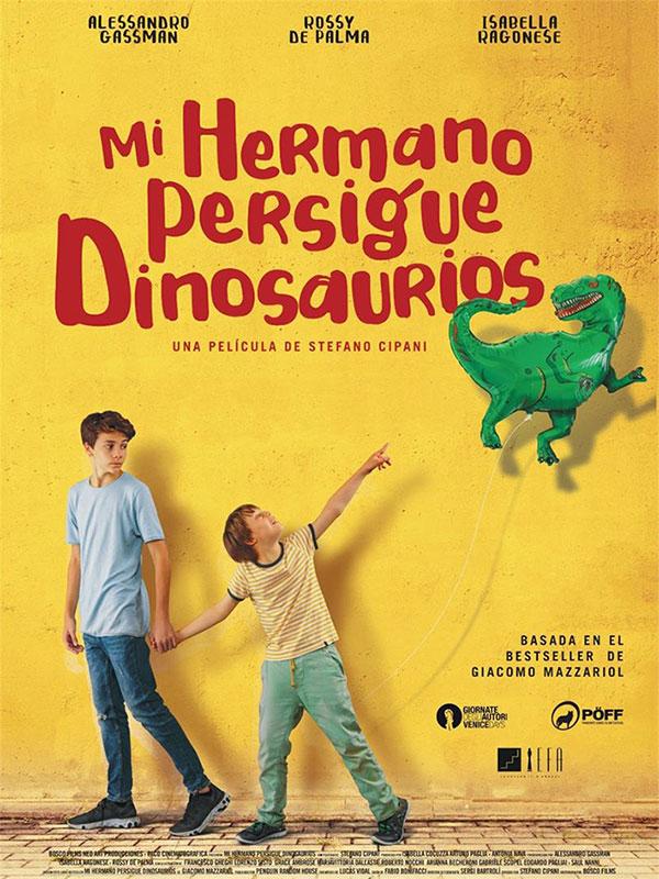 Mi hermano persigue dinosaurios Cartel España